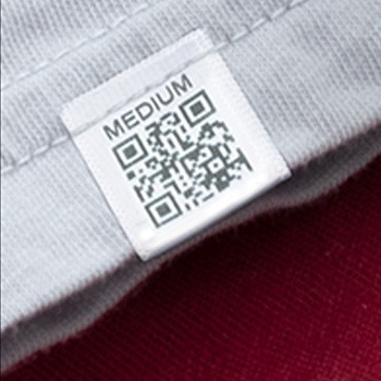 tracking label inside shirt collar